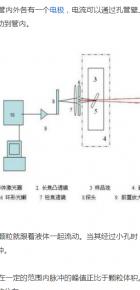 电阻法颗粒计数器的测量原理